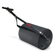 Lawn Roller Push Tow Steel / Poly 270 Lbs Rounded Sod Garden Grass Tractor
