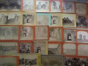 25+ St. Augustine Florida Stereoview Photographs Lot