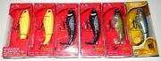 Lot 6 New Assorted River2sea Whopper Plopper 110 Topwater Fishing Lures Wpl110