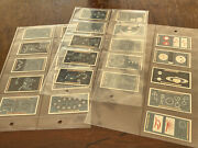 Vintage 1916 Andldquothose Pearls Of Heavenandrdquo Tobacco Cards/complete Set Of 25/sleeved