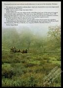 1969 Wells Fargo Bank Stagecoach Horse Wagon Color Photo Vintage Print Ad