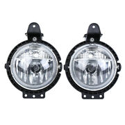 Pair For Mini R55 R56 R57 R58 Cooper 2006-2014 Front Left And Right Fog Lights