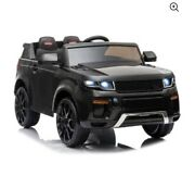 Battery Powered Electric Vehicles For Kids, Ride On Toys For Girls/boys Black