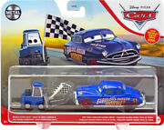 Disney Cars 3 Metal Series Doc And Double Clutch Daley Diecast Car 2 Pack