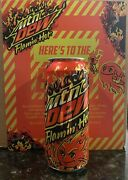 Mountain Dew Flamin Hot Limited Edition Mtn Dew 1 Can🔥 In Hand