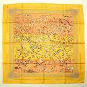 Hermes Scarf Carre 90 Silk Libres Comme Land039air The Sky Is Free Duck Bird Bandana