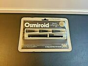 Antique Osmiroid Basic Calligraphy Set Fountain Pen With Three Easy Change Nibs