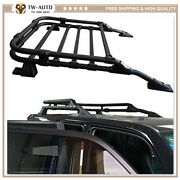 Fit For 2010-2021 Toyota 4runner Roof Basket Rack Rooftop Luggage Cargo Carrier