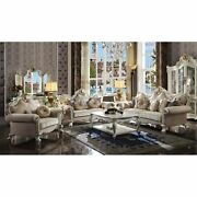 Ergode Loveseat W/5 Pillows Fabric And Antique Pearl