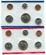 1987 Mint Set United States Uncirculated Coin Set Us Mint Ogp Official Genuine