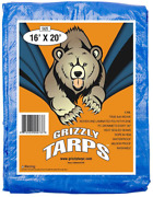 Tarps Covers - Large Waterproof Poly Outdoor - 5 Mil Thick For Pool Grill