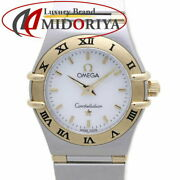 Omega Constellation Mini Finished Shell Dial 1362.70 Yg/ss Women And039s /37835