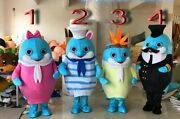 Christmas Egg Yolk Mascot Costume Suits Cosplay Party Clothing Carnival Adults @
