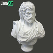 Hand Carved White Marble Roman Bust Statue,marble Bust Sculpture