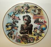 Flambro Vintage Plate - Looking Back On Life Of Emmett Kelly Circus Clown