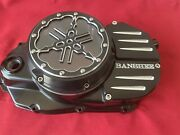 Banshee Atv The Coolest Clutch Lockout Cover Lexan Lens With Metal Cover Black