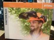 Stihl Safety Helmet W/hearing Protection New W/o Tags