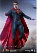 Used Hot Toys Movie Masterpiece Man Of Steel 1/6 Superman Pvc Figure From Japan