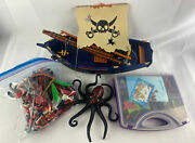 Playmobil Geobra Pirate Ship Lot Incomplete W/ Other Sets And Lots Of Accessories