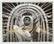 1943 B-24 Liberator Tail Section Consolidated Fort Worth Texas Plant News Photo
