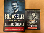 Killing Lincoln By Bill O'reilly Book And Audio Book Cd Set