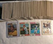 🔥1974 Topps Baseball Cards Complete Vintage Set 1-660 Ex-n/mint Winfield🔥