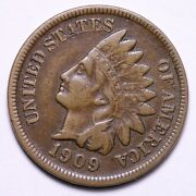 1909-s Indian Head Cent Penny Choice Xf Free Shipping E553 Temx