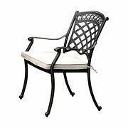 Benzara-charissa Transitional Arm Chair Pack Of Two Antique Black