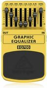 Behringer Guitar Effect Pedal 7 Band Graphic Equalizer Eq700 Graphic Equalizer