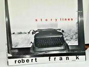 Signed 1st Of Story Lines Robert Frank