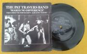 Pat Travers Band  Makes No Difference Super Uk Demo Flexi In Pic Sleeve