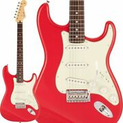 New Fender Made In Japan Hybrid Ii Stratocaster Rosewood Fingerboard Modena Red