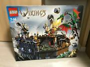 Lego 7019 Viking Fortress Against The Fafnir Dragon 2005 Rare New From Japan