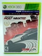 Need For Speed Most Wanted Xbox 360, 2012 Brand New/factory Sealed