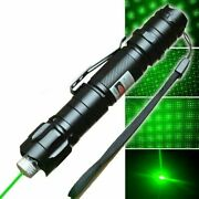 900 Miles 532nm Laser Pointer High Power 009 Rechargeable Lazer+battery+charger