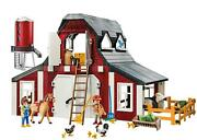 Playmobil Modern Barn Building Blocks Kids Fun Gift Playset With Silo Imported