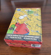 Simpsons Sealed Hobby Box 2000 Inkworks - 10th Anniversary Trading Cards -autos