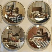Authentic Edwin M. Knowles Complete Collection Plates Old-fashioned Favorites