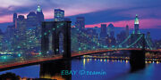 Clementoni New York Night View Scenery 13200piece Adult Decompression Puzzle Toy