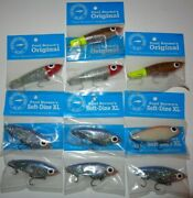 Lot Of 10 New Assorted Paul Brown's Original Soft-dine Xl Fishing Lures 1