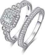 Jewelrypalace Wedding Bands Engagement Rings For Women 14k Gold Plated 925 Ster