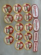 Carnation Dairy Patches Collectibles Embroidered Good And Used Condition