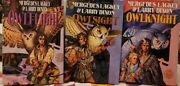 Mercedes Lackey Darian's Tale Owl Trilogy Hardcover Book Lot 3 Owlsight
