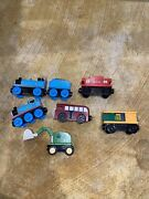 Thomas The Train Andldquoout Of The Tracksandrdquo 2001 Magnetic Trains And Wooden Tracks