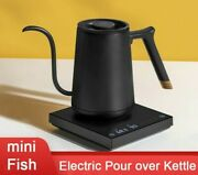 Percolator Coffee Pot Electric Kettle Stainless Steel Pour Gooseneck Variable