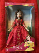 2003 Disney Belle The Brass Key Porcelain 16andrdquo Limited Edition. Rare.