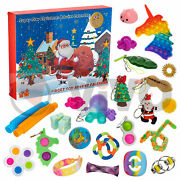 Fidget Toy Christmas Advent Calendar 24 Days - In Stock Now - Limited Quantity