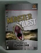 History Channel Monster Quest The Complete 4 Fourth Season Four Dvd