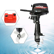 Outboard Engine 6.5 Hp 4stroke Fishing Boat Motor Water Cooling Cdi Syst Hangkai