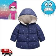 Christmas Xmas Winter Star Small Childrenand039s Baby Cotton Worm Heated Jacket Coat